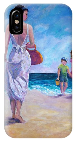 Beautiful Day At The Beach IPhone Case
