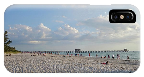 Beautiful Day On Naples Beach Naples Florida IPhone Case