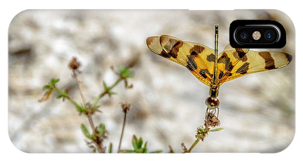 Beautiful Dragonfly IPhone Case