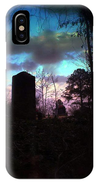 Beautiful Evening In The Graveyard IPhone Case