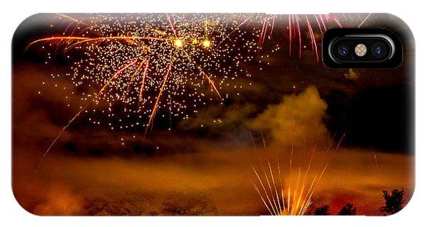 Beautiful Fireworks IPhone Case