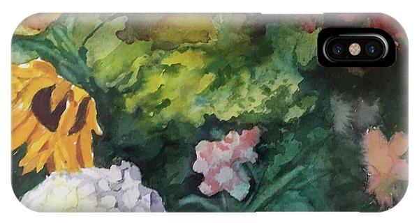 Beautiful Floral Jumble IPhone Case