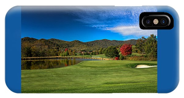 IPhone Case featuring the photograph Colorful Golf by Claire Turner