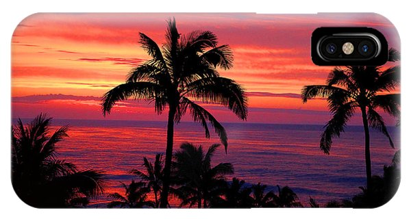 Beautiful Hawaiian Sunset IPhone Case