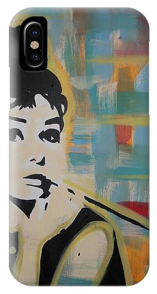 Beautiful Hepburn IPhone Case