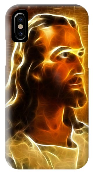 Spirituality iPhone Case - Beautiful Jesus Portrait by Pamela Johnson
