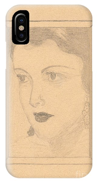 Beautiful Lady Face IPhone Case