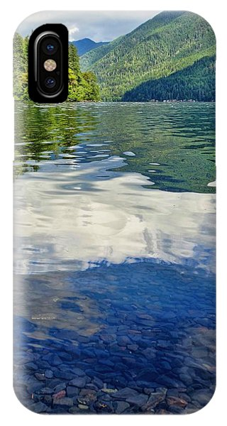 IPhone Case featuring the photograph Beautiful Lake Crescent Washington by Dan Sproul