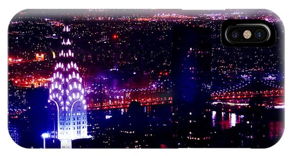 Chrysler Building iPhone Case - Beautiful Manhattan Skyline by Az Jackson