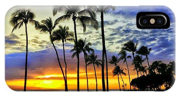 Beautiful Maui Hawaii Sunset IPhone Case