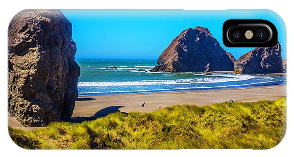 Oregon Sand Dunes iPhone Case - Beautiful Meyers Beach by Garry Gay
