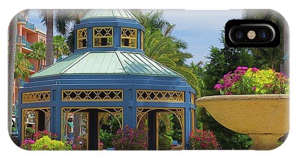 Beautiful Mizner Park In Boca Raton, Florida. #2  IPhone Case