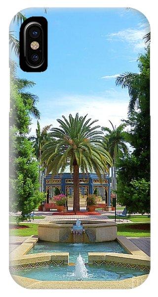 Beautiful Mizner Park In Boca Raton, Florida. #8 IPhone Case