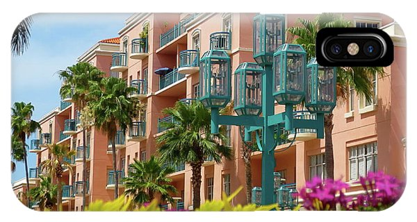 Beautiful Mizner Park In Boca Raton, Florida. #9 IPhone Case