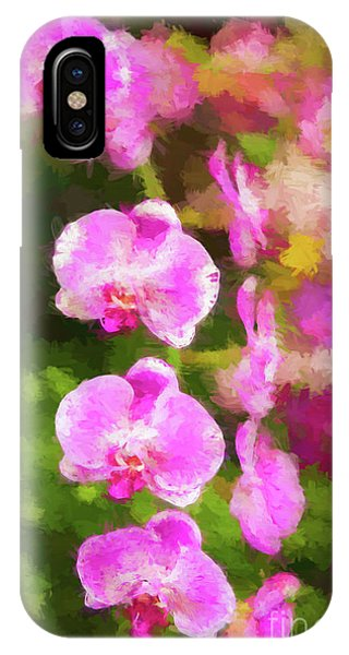 Beautiful Orchids IPhone Case