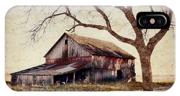 Beautiful Red Barn-near Ogden IPhone Case