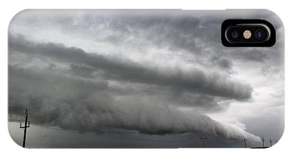 Beautiful Shelf Cloud IPhone Case