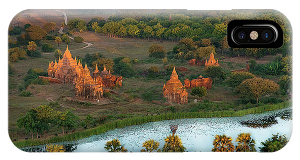 Beautiful Sunrise In Bagan IPhone Case
