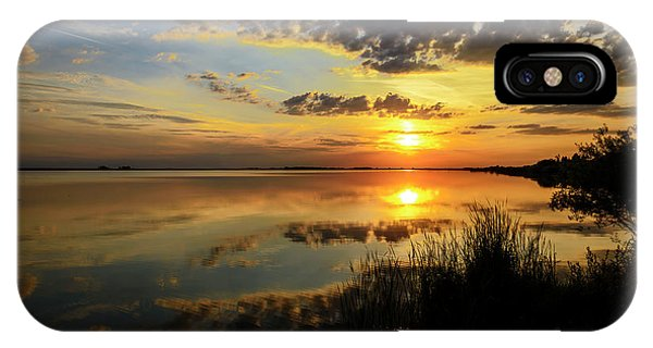 Beautiful Sunset At The Lake IPhone Case