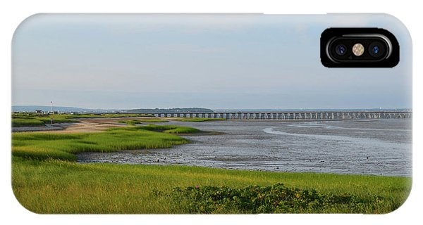 Beautiful Views Of Powder Point Bridge And Duxbury Bay IPhone Case
