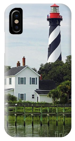 Beautiful Waterfront Lighthouse IPhone Case