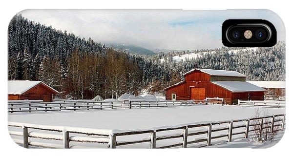 Beautiful Winter Morning IPhone Case