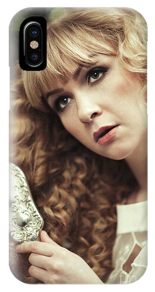 Pre-modern iPhone Case - Beautiful Young Woman  by Amanda Elwell