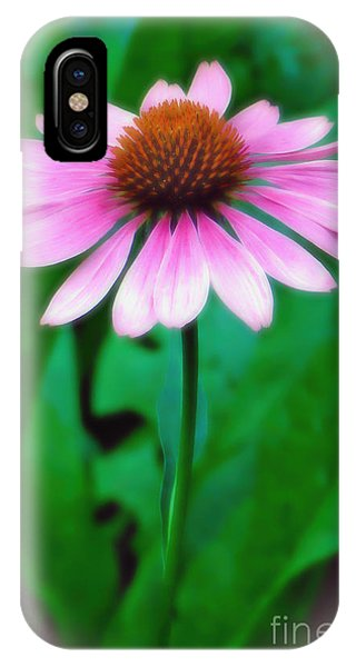 Beauty Among The Leaves IPhone Case