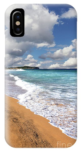Beauty And The Beach By Kaye Menner IPhone Case