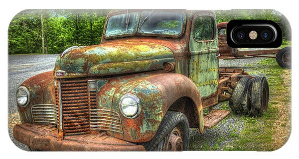 Beauty And The Best 1947 International Harvester Kb 5 Truck IPhone Case