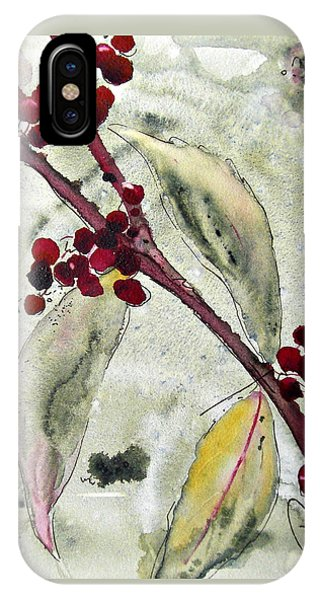 Beauty Berry Branch IPhone Case