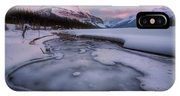 Beauty Creek, Jasper National Park IPhone Case