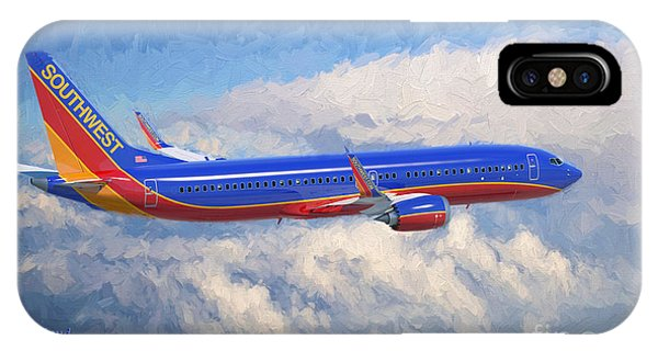 Airplane iPhone Case - Beauty In Flight by Garland Johnson