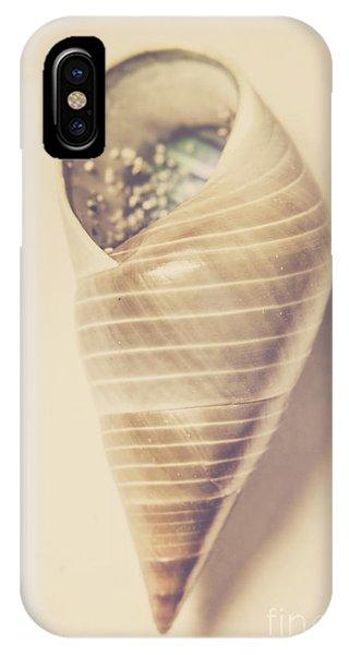 Monotone iPhone Case - Beauty In Oceanic Symmetry by Jorgo Photography - Wall Art Gallery