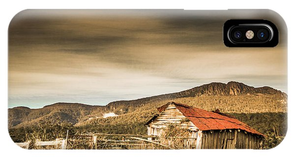 Old Fashioned iPhone Case - Beauty In Rural Dilapidation by Jorgo Photography - Wall Art Gallery