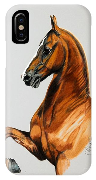 Sirtainly Stylish  - Saddlebred IPhone Case