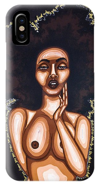 Beauty In The Dark IPhone Case