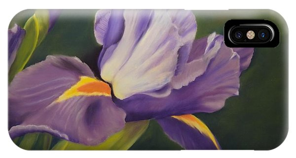 Beauty Is In The Iris IPhone Case