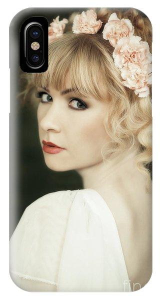 Pre-modern iPhone Case - Beauty Portrait by Amanda Elwell
