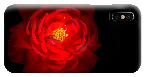 IPhone Case featuring the photograph Beauty Shining Through The Darkness by Allin Sorenson