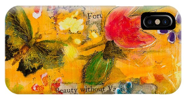 Beauty Without Vanity IPhone Case