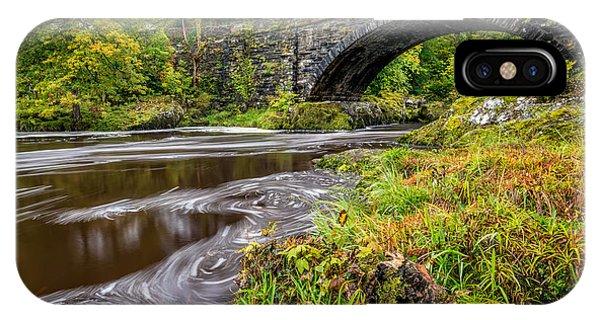 Fairy Glen iPhone Case - Beaver Bridge by Adrian Evans