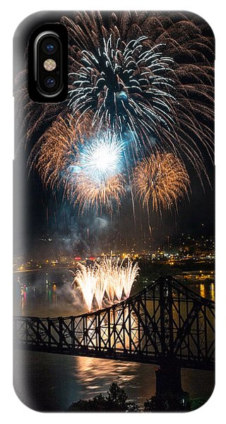 Beaver County Fireworks 2 IPhone Case
