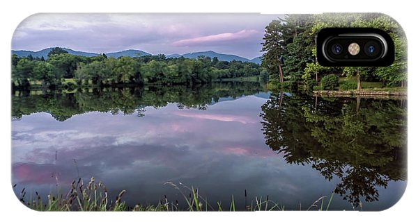Beaver Lake Reflections IPhone Case