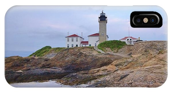 iPhone Case - Beavertail Lighthouse by Red Cross