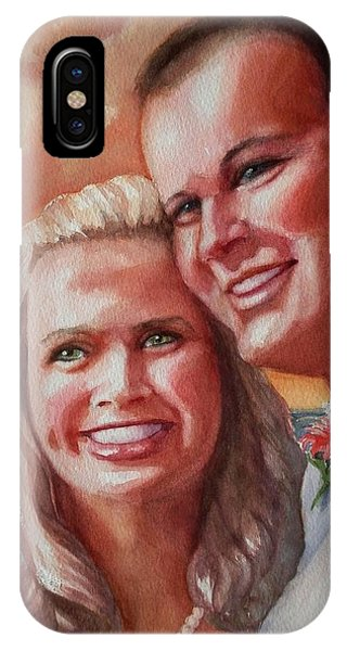 Becky And Chris IPhone Case