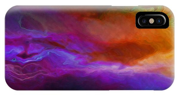 Becoming - Abstract Art - Triptych 1 Of 3 IPhone Case