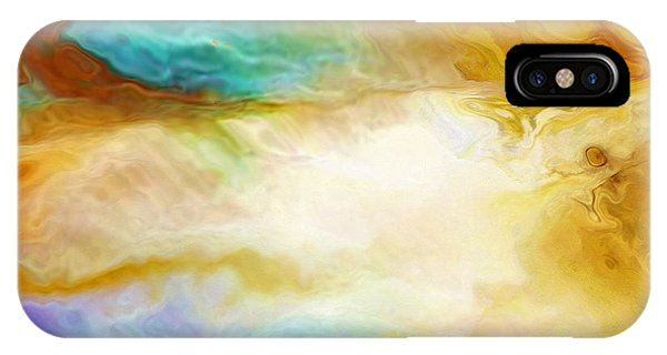 Becoming - Abstract Art - Triptych 2 Of 3 IPhone Case