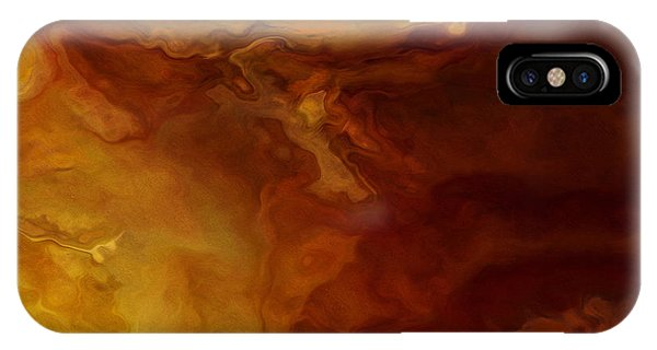 Becoming - Abstract Art - Triptych 3 Of 3 IPhone Case