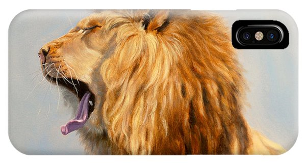 Bed Head - Lion IPhone Case